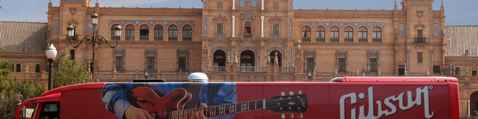 2007 – Spain & Portugal I Gibson Promotion Tour