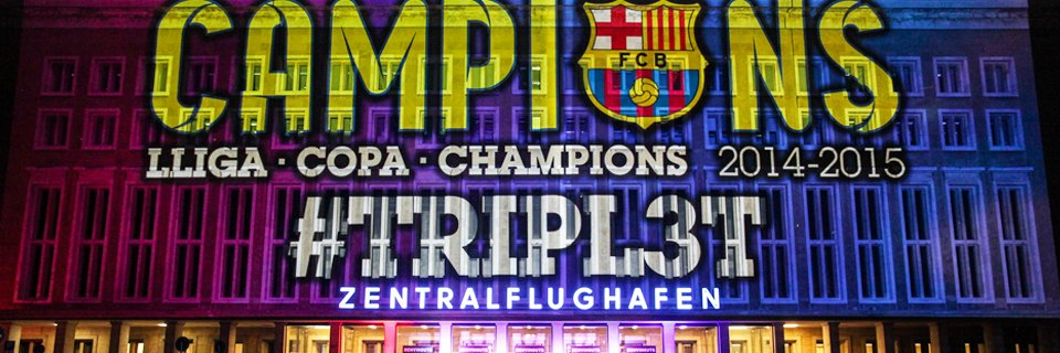 2015 – Berlin I Barcelona Football Club – Champions League Final – After Match Party